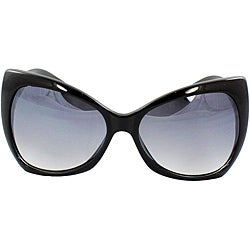 Women's Black Butterfly Sunglasses