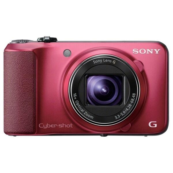 Sony Cyber-shot DSC-HX10V/R 18.2 Megapixel Compact Camera - Red