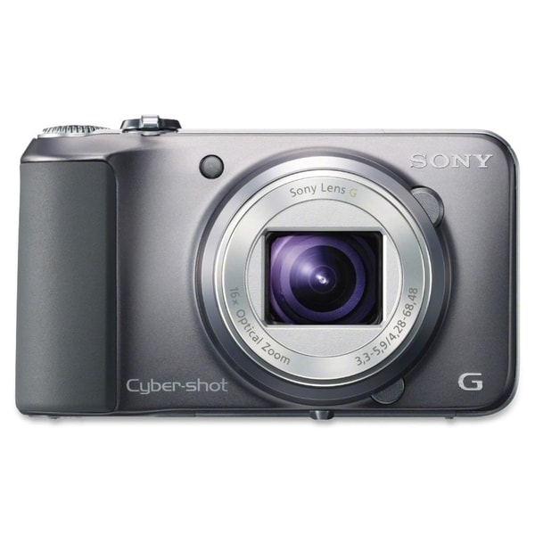 Sony Cyber-shot 16.1 Megapixel Compact Camera - Black