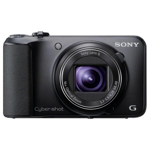 Sony Cyber-shot DSC-H90/B 16.1 Megapixel Compact Camera - Black