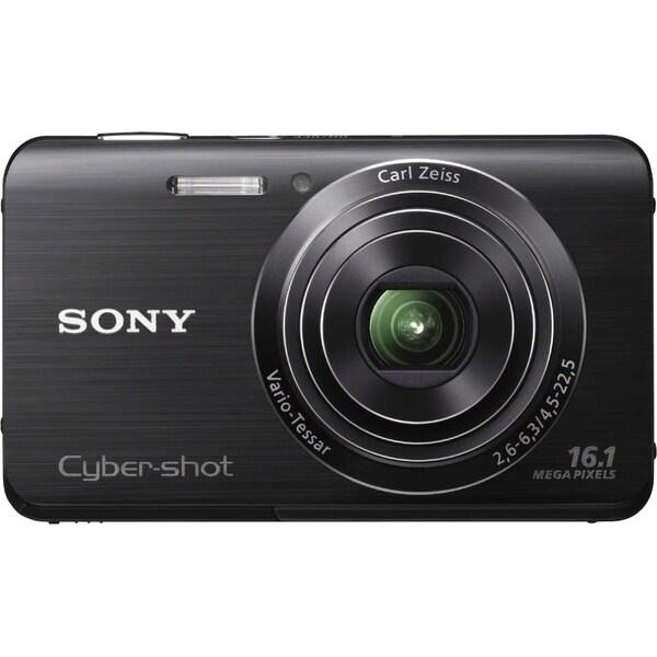 Sony Cyber-shot DSC-W650 Black Digital Camera (New Non Retail Packaging)
