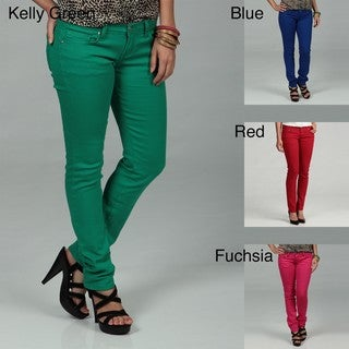 U-51 Junior's Colored Skinny Jeans FINAL SALE