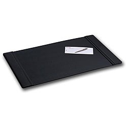 Dacasso Classic Black Leather Desk Pad (38x24)