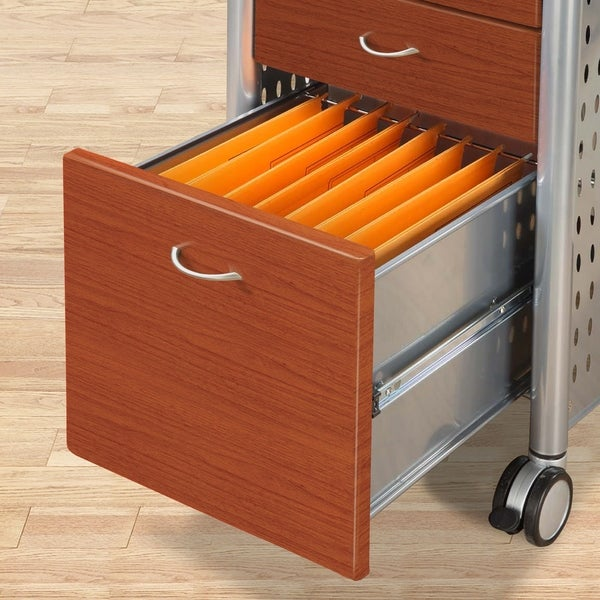 Innovex Mobile Filing Cabinet - Free Shipping Today - Overstock ...