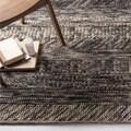 The Gray Barn Magda Hand-woven Grey/ Brown Casual Wool Area Rug - 5' x 8'