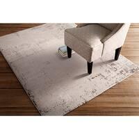 "Vintage Contemporary Crockery Abstract Area Rug - 5'3"" x 7'3"""