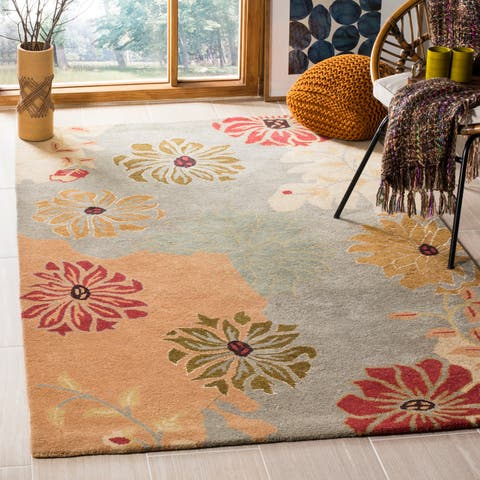 Safavieh Handmade Metro Balbine French Country Floral Wool Rug