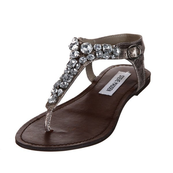 161005286e6f4e Shop Steve Madden Women s  Groom  Sandals - Free Shipping Today ...