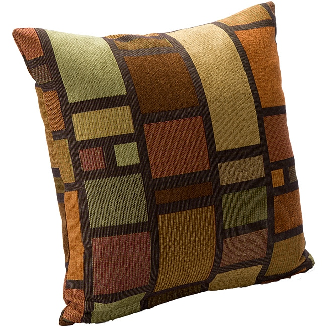 Soho Contemporary Square Accent Pillow