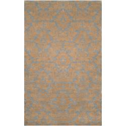 Hand-tufted Beige Anglo New Zealand Wool Rug (3'3 x 5'3)