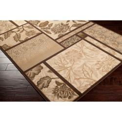 Woven Beige Andro Rug (6'7 x 9'6) - Thumbnail 1