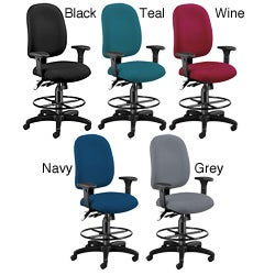 OFM Ergonomic Drafting Chair and Stool with Molded-foam Seat