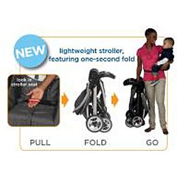 Graco FastAction Fold Travel System in Forecaster - Thumbnail 2