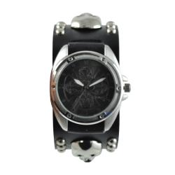 Nemeis Men's Punk Skull Watch