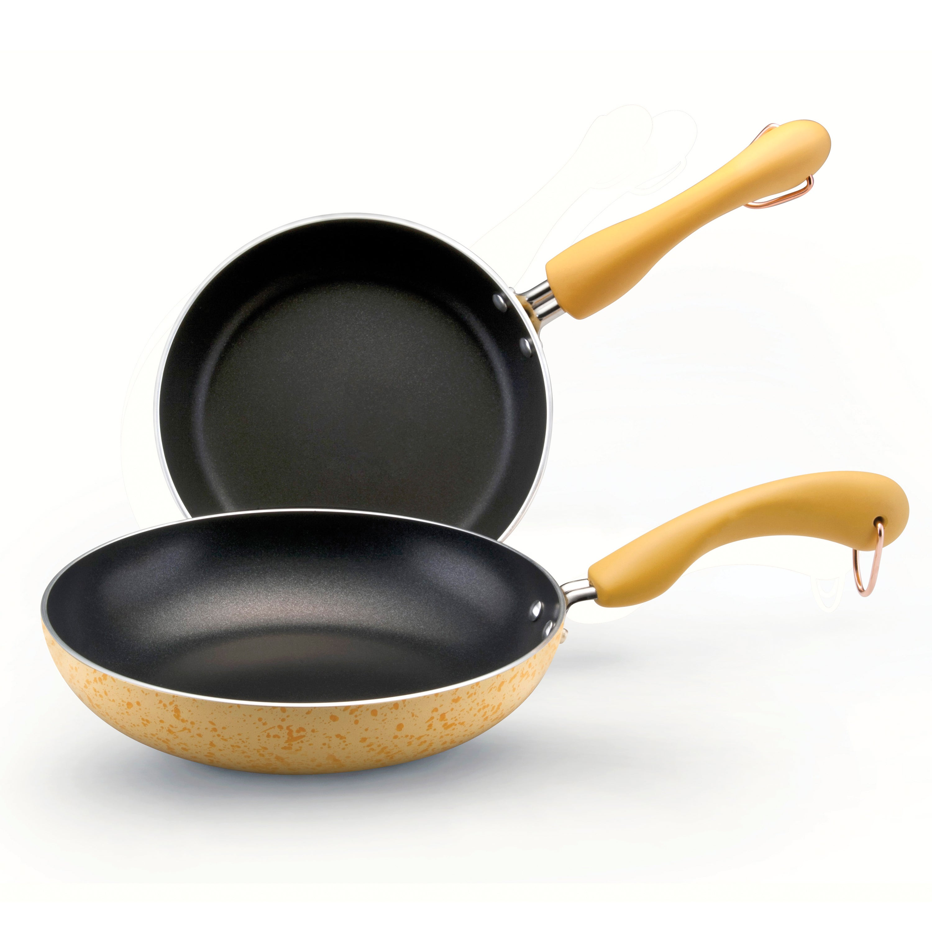 Paula Deen Signature Porcelain 'Butter' Open Skillet Set