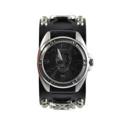 Nemesis Men's Punk Cross Bones Skull Watch