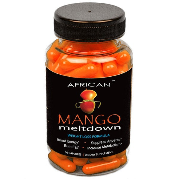 African Mango Meltdown Weight Loss Supplement