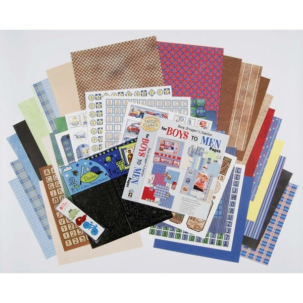 Boy's Scrapbooking Set