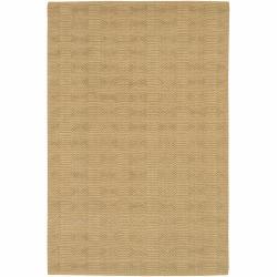 Artist's Loom Hand-woven Contemporary Geometric Natural Eco-friendly Jute Rug (5'x7'6) - Thumbnail 0