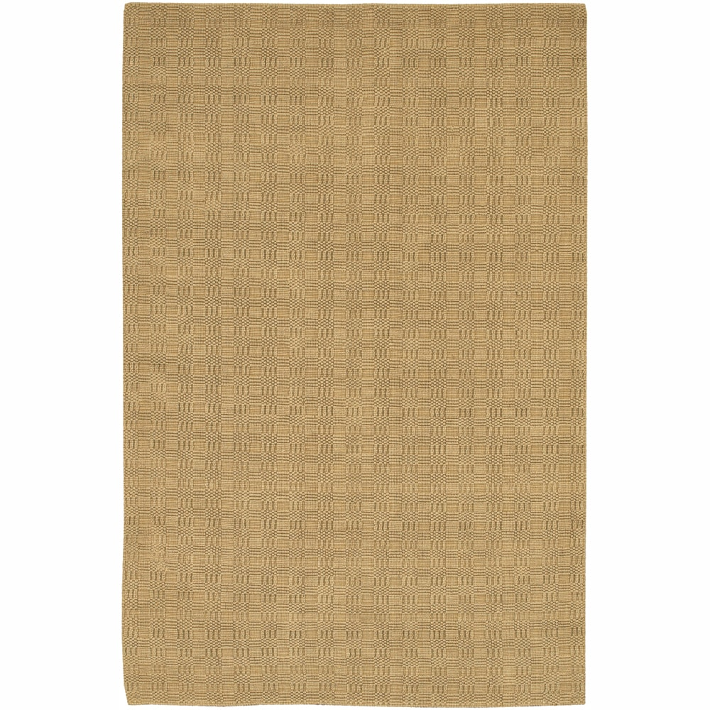 Artist's Loom Hand-woven Contemporary Geometric Natural Eco-friendly Jute Rug (7'9x10'6) - 7'9x10'6