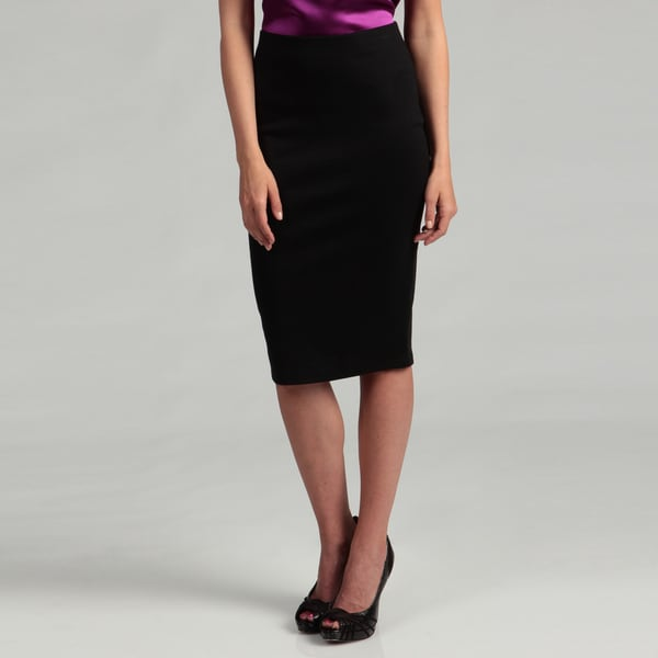 Jessica Simpson Junior's Black Pencil Zipper Skirt