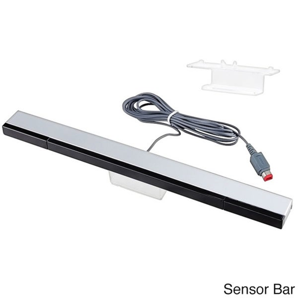 INSTEN Wii - Black Wired Sensor Bar