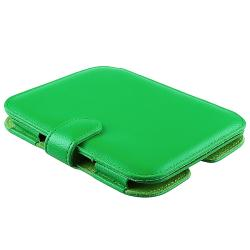 INSTEN Green Leather Phone Case Cover for Barnes and Noble Nook 2