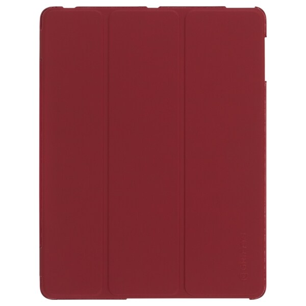 Griffin IntelliCase Carrying Case (Folio) for iPad - Dark Red