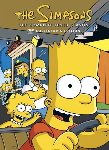 The Simpsons: The Complete Tenth Season (DVD) - Thumbnail 0