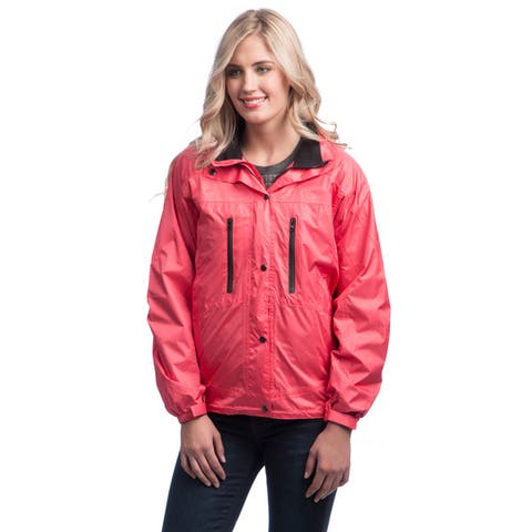 Mossi Women's Salmon RX Series Rain Jacket