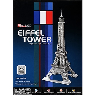 Eiffel Tower Paris 3D Puzzle