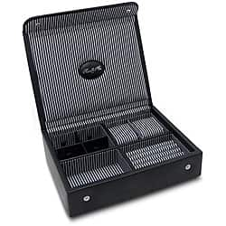 Morelle & Co 'Kennedy' Leather Men's Valet Watch Box|https://ak1.ostkcdn.com/images/products/6580245/Morelle-Kennedy-Leather-Mens-Jewelry-Box-P14155007.jpg?impolicy=medium