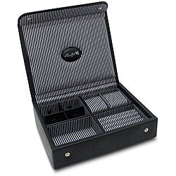 Morelle & Co 'Kennedy' Leather Men's Valet Watch Box