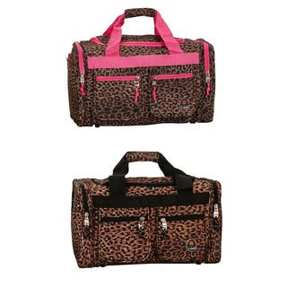 Rockland Deluxe Leopard 19-inch Carry-On Duffel Bag https://ak1.ostkcdn.com/images/products/6580253/P14154990.jpg?impolicy=medium