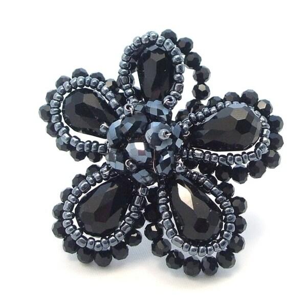 Diamond Bridal Set 2.36 Ct Round Diamond Black Sterling Silver Ring Handmade !! Jewelry & Watches Fine Rings