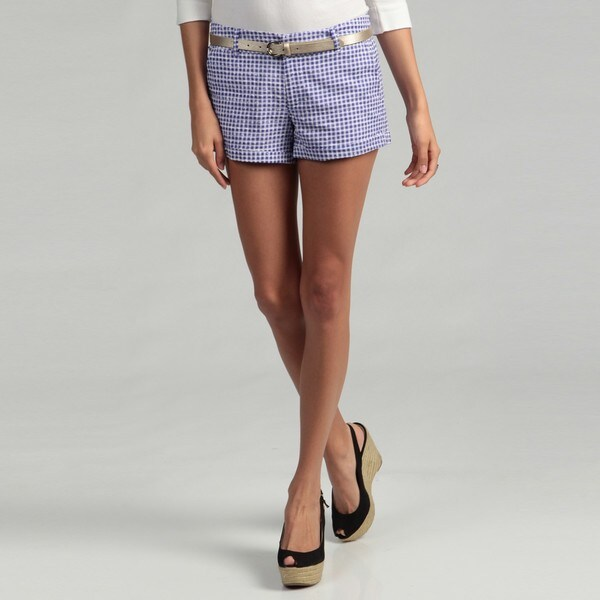 Jessica Simpson Junior's Gingham Shorts FINAL SALE