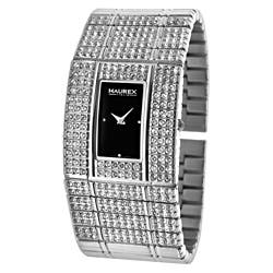 Haurex Women's Natural Crystal Stainless Steel Watch|https://ak1.ostkcdn.com/images/products/6580376/Haurex-Womens-Natural-Crystal-Stainless-Steel-Watch-P14155070.jpg?impolicy=medium
