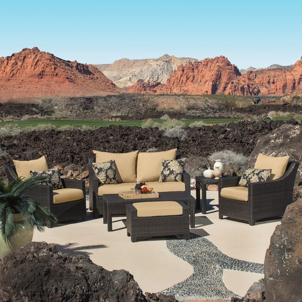 Rst Delano 6 Piece Deep Seating Patio Furniture Set