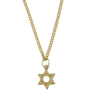 Link to 14k Yellow Gold Children's 'Star of David' Necklace Similar Items in Children's Jewelry
