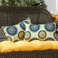 Porch & Den Rosewood Graham 19x12-inch Rectangular Outdoor Accent Pillows (Set of 2)