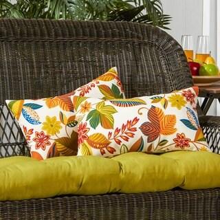 19x12-inch Rectangular Outdoor Esprit Accent Pillows (Set of 2)