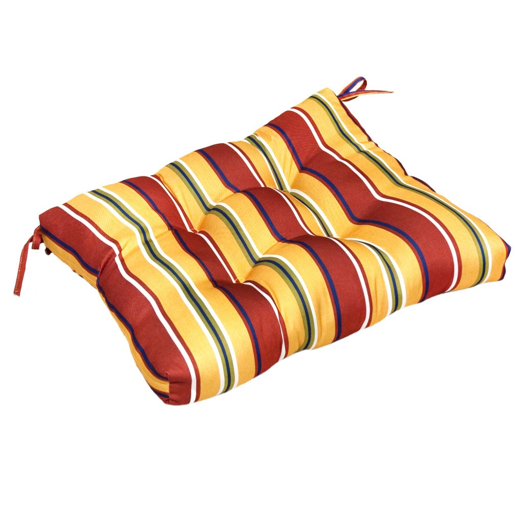 Mayan Stripe 23-inch Outdoor Dining Cushion