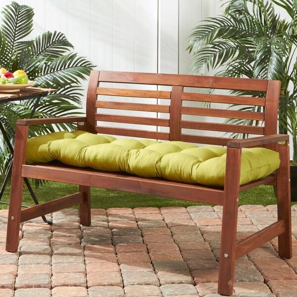 51-inch Outdoor Kiwi Bench Cushion