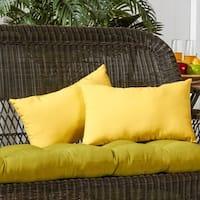 19x12-inch Rectangular Outdoor Sunbeam Accent Pillows (Set of 2)
