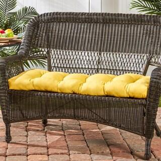 44-inch Outdoor Sunbeam Swing/ Bench Cushion