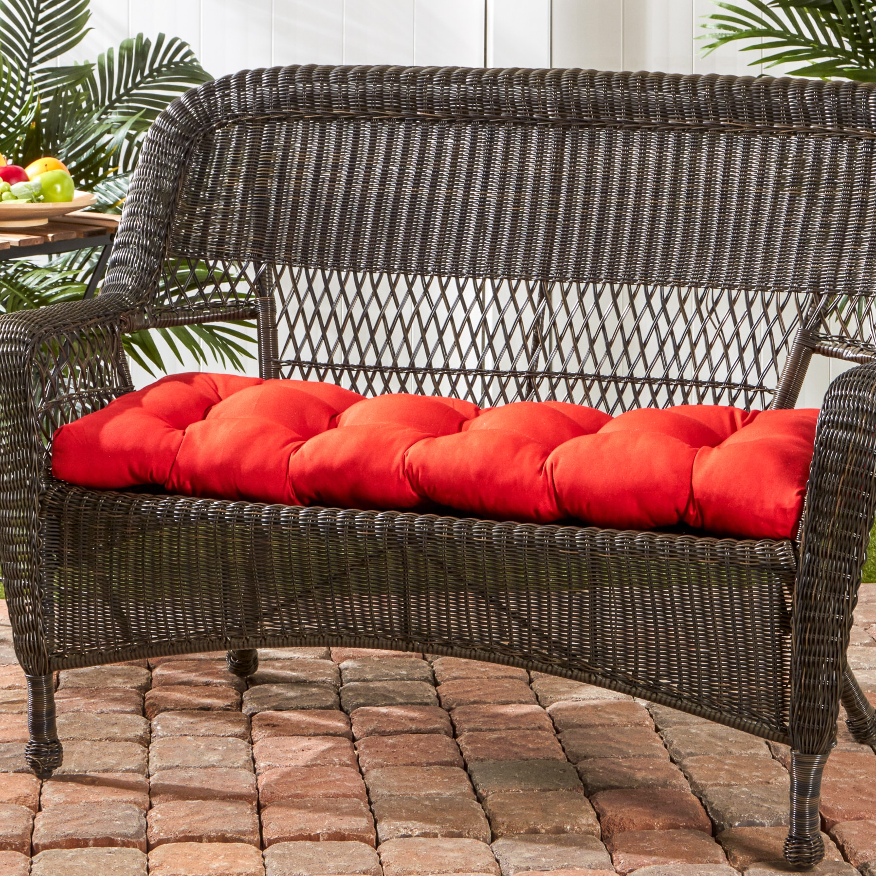 Shop Greendale Home Fashions Salsa 44 Inch Outdoor Swing Bench