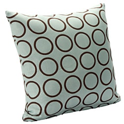 Contemporary 'Dana' Square Accent Pillow - Thumbnail 0