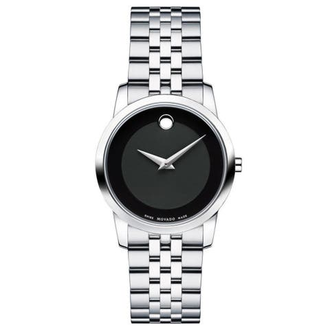 Movado Women's 606505 Museum Stainless Steel Watch