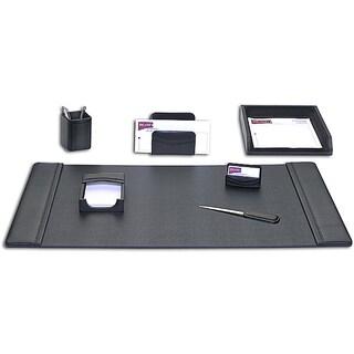Dacasso Classic Leather 7-piece Desk Set