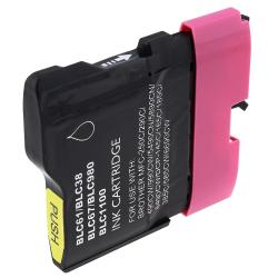 Insten Magenta Non-OEM Ink Cartridge Replacement for Brother LC65M/ LC61M